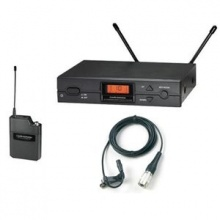 Audio Technica ATW-2110A-U Wireless UniPack System with Lavalier Microphone