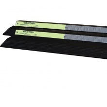 Edge-Safe Stage Safety Edge, with Reflective / Photo Luminescent Strip, 1m