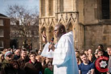 Archbishop of York addresses York Minster