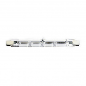 K1 Clear Glass Lamp for 240V Operation, 117mm Long, R7s Base, 400W