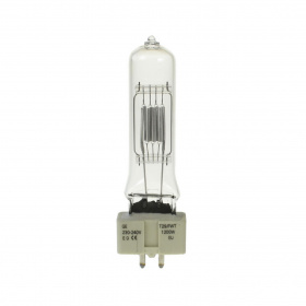 T29 Lamp for 240V Operation, GX9.5 Base, 1200W