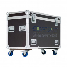 Flightcase for 10x Edge-Safe Strips, With ES Logo