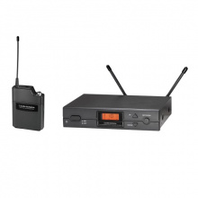 Audio Technica ATW-2110A F-Band (Ch 70) Wireless Unipak System, Ch 70.